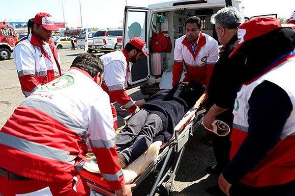 انتقال ۶۰۳ نفر به مراکز درمانی/ ۲هزارو۲۹۴ مسافر سرپایی درمان شدند