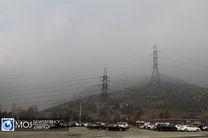 وضعیت قرمز هوا در ۱۳ ایستگاه سنجش کیفیت هوای تهران