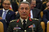 وزیر دفاع ترکیه نسبت به خلا قدرت در سوریه هشدار داد
