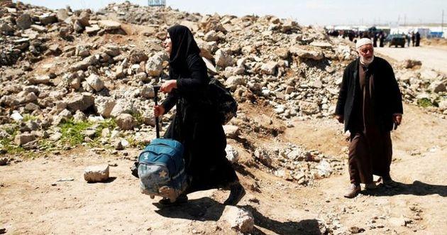جنایت هولناک داعش در حق دهها فراری موصل و استفاده مجدد از گازهای سمی