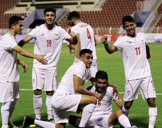 پخش زنده بازی فوتبال امید ایران و کره جنوبی از شبکه سه سیما