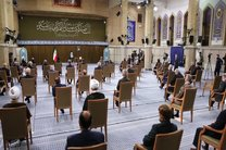 آخرین دیدار رئیس جمهور و اعضای هیات دولت دوازدهم با رهبر انقلاب