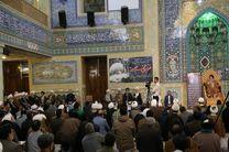 مراسم هفتمین روز درگذشت آیتالله حائری شیرازی برگزار شد