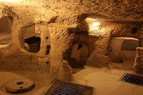 رونمائی از نماد شهر زیرزمینی نوش آباد