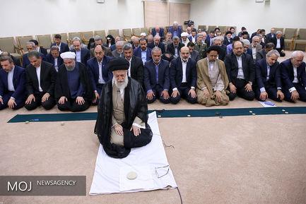 دیدار رییسجمهور و اعضای هیات دولت با مقام معظم رهبری