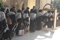 اعزام 160 نفر از دانشآموزان دختر مینابی به اردوی راهیان نور