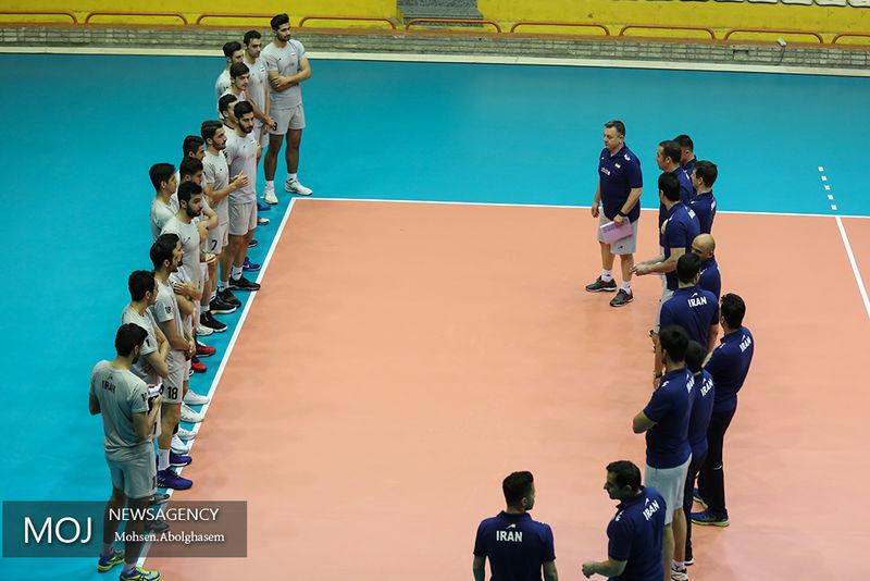 فهرست بازیکنان تیم ملی والیبال ایران مشخص شد