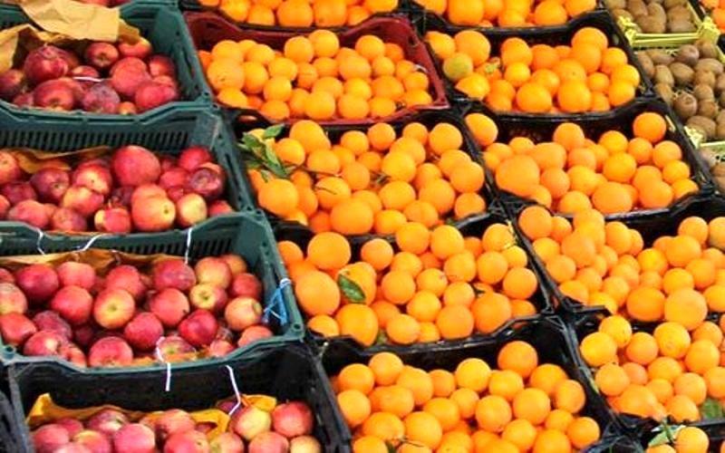 توزیع بیش از ۵۹۶ تن میوه در هرمزگان
