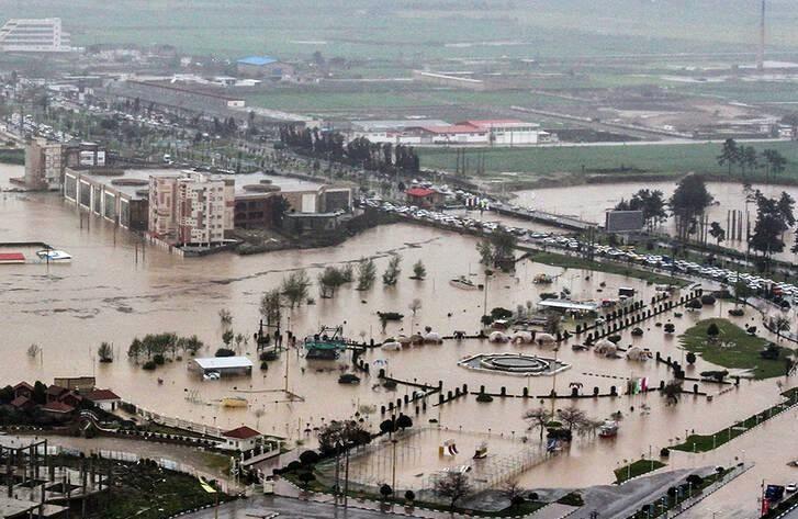اقدامات حمایتی دولت برای التیام مشکلات سیلزدگان گلستان