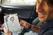 بیرانوند جایزه خود را از AFC دریافت کرد