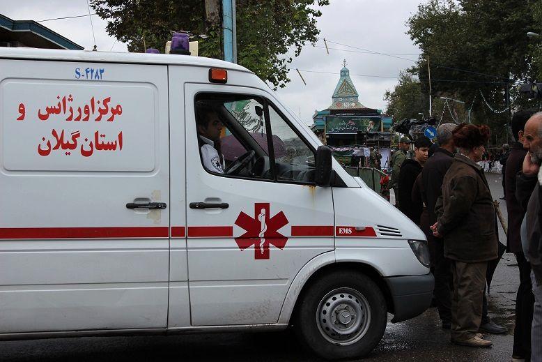 زن گیلانی به همت اورژانس 115 دوباره به زندگی بازگشت