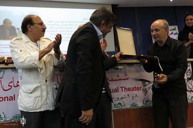 اهدای جایزه جلال ستاری در جشنواره آیینی سنتی