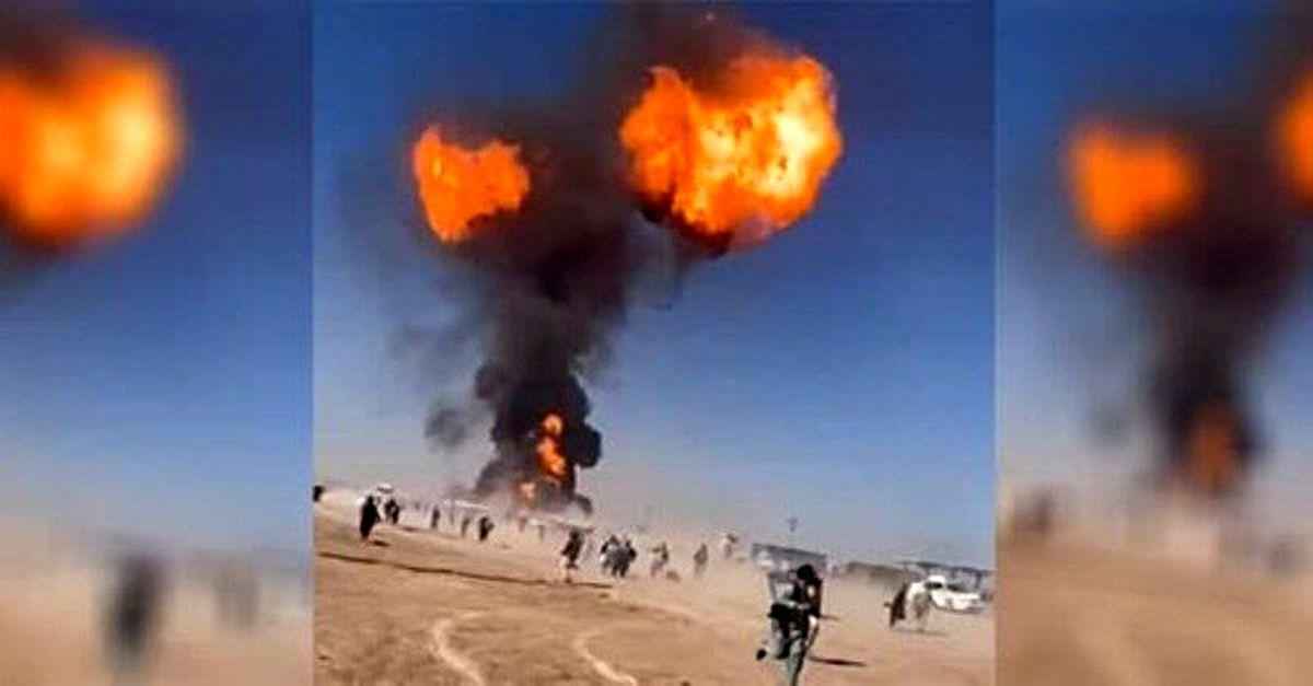 تیم های امدادی هلال احمر به محل وقوع انفجار در گمرک اسلامقلعه اعزام شدند