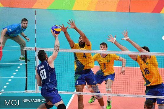برزیل قهرمان والیبال المپیک شد