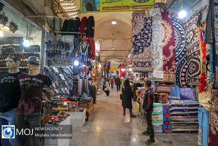 حال و هوای بازار اصفهان پس از شیوع کرونا