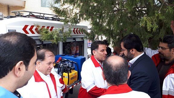 اختصاص 2 خودروی امدادی جدید و مدرن به استان اردبیل