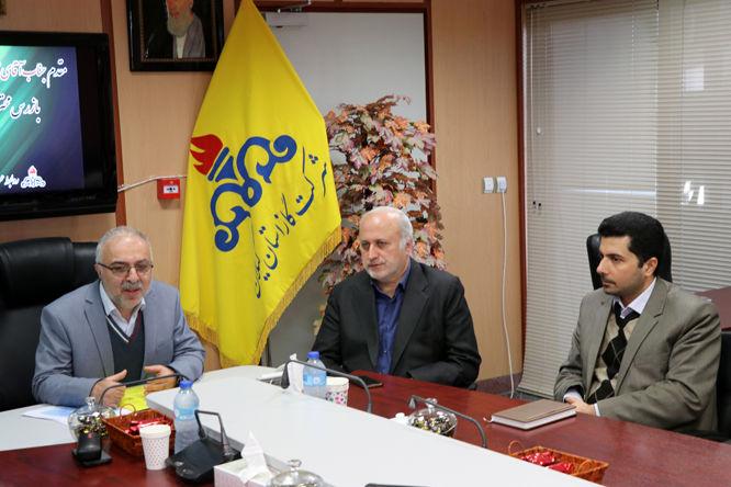 درصد بهره مندی بالای گازرسانی در استان از برکات نظام اسلامی است