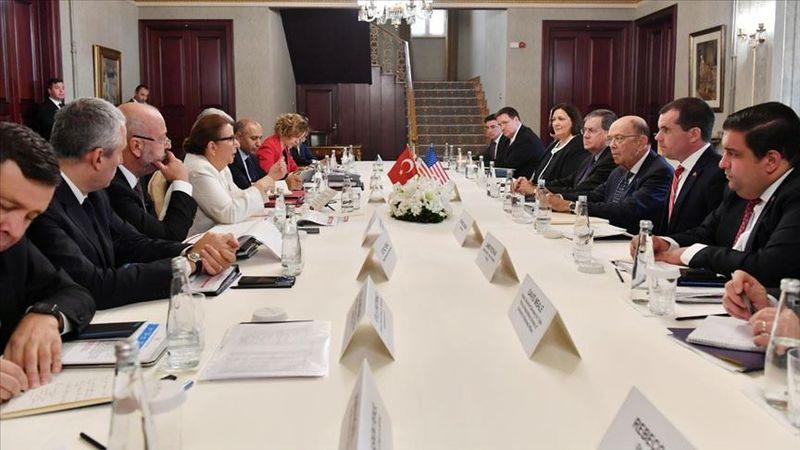 چشم انداز 100 میلیارد دلاری تجارت ترکیه و آمریکا به بحث گذاشته شد