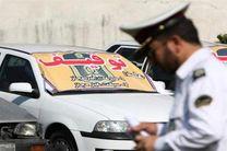 خودروی سواری با بیش از 31 میلیون ریال خلافی در نایین توقیف شد