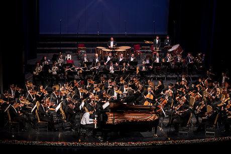 اجرای مشترک ارکستر ایتالیایی با ارکستر سمفونیک تهران