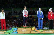 علیزاده، اولین مدالآور زن ایران در المپیک