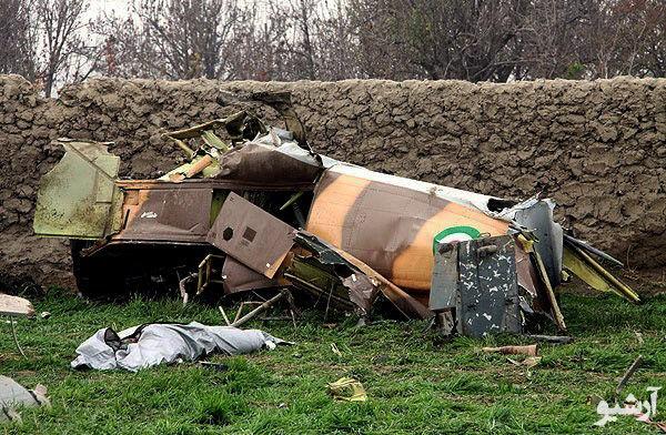 یک تیم ارزیاب به محل حادثه سقوط هواپیمای فوق سبک ارتش اعزام شد