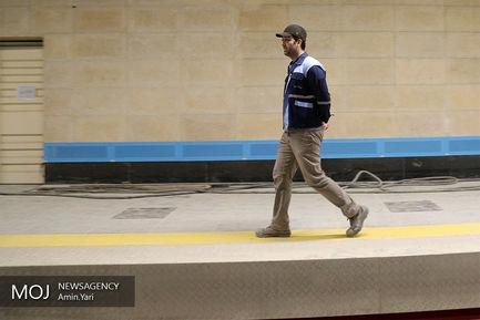 بازدید سرپرست شهرداری از خط ۶ مترو تهران