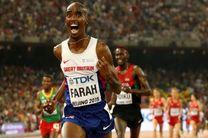 محمد فرح در مسابقه خداحافظی رکورد اروپا را شکست