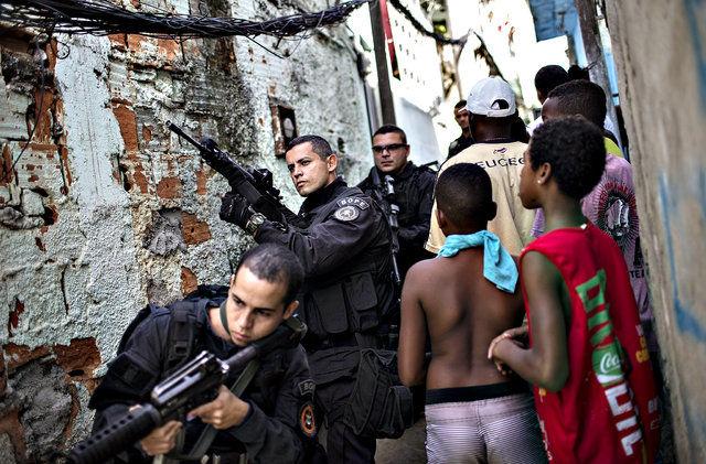 خشم برزیلیها از کشته شدن غیرنظامیان در عملیاتهای مسلحانه پلیس