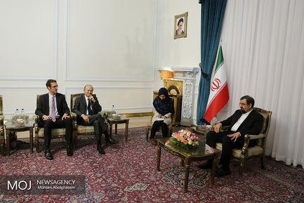 دیدار سفیر فرانسه در ایران با محسن رضایی