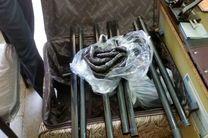 مأموران گمرک بازرگان در بازرسی از یک چمدان یک کیلو و ۷۰۰ گرم تریاک کشف کردند