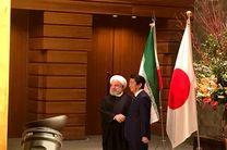 استقبال رسمی آبه شینزو از رئیس جمهور اسلامی ایران