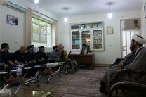 خادمان حرم رضوی با نماینده ولیفقیه در استان لرستان دیدار کردند