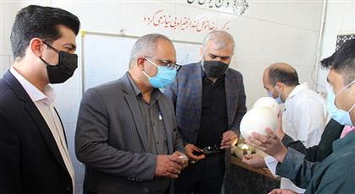 بازدید رییس کانون وکلای دادگستری استان یزد از زندان مرکزی
