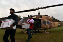 هلال احمر لرستان بسته غذایی میان سیل زدگان شهرستان پلدختر توزیع کرد + فیلم