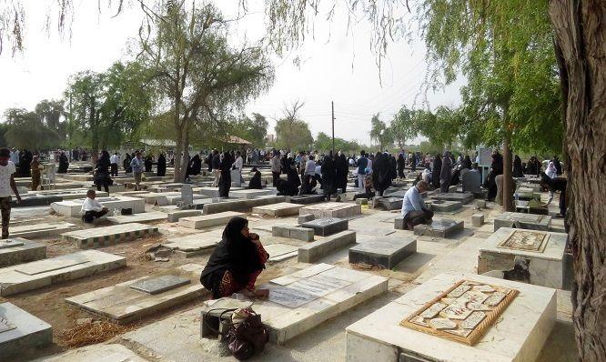 احداث پیاده روی ایمن در آرامستان بندرعباس