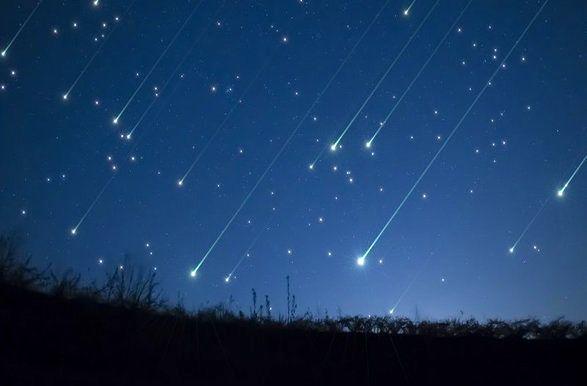 مشاهده بارش شهابی امشب در آسمان