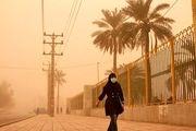 شاخص کیفیت هوا در بندرخمیر به مرز خطرناک رسید/ شهروندان در خانه بمانند