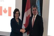 دیدار مقامات کانادا و ازبکستان در تاشکند