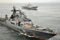 آماده باش ناوگان دریای خزر ارتش روسیه