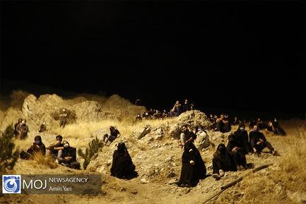 عزاداری شب عاشورای حسینی در کهف شهدا