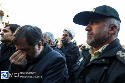 تشییع پیکر شهید شهروز مظفری نیا در قم