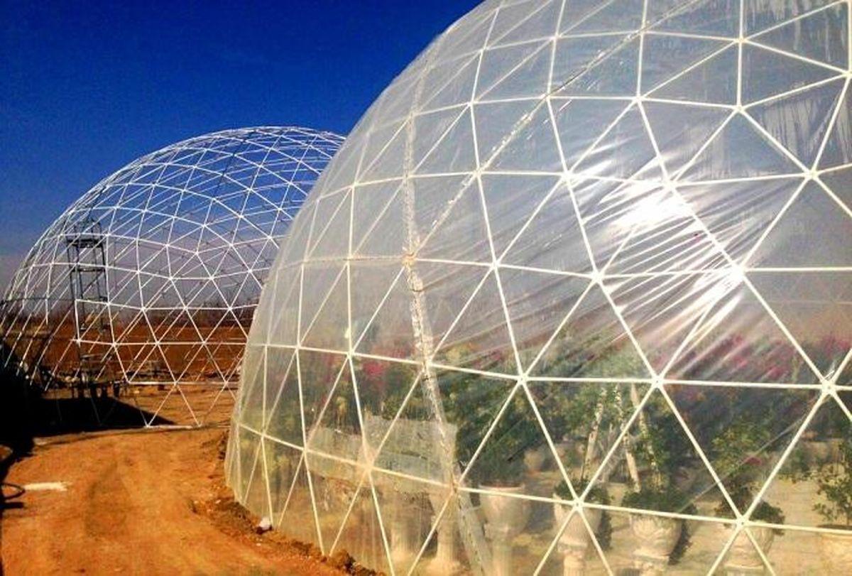 گلخانه کروی در دستور کار سازمان سیما، منظر و فضای سبز شهرداری یزد در سال ۱۴۰۰ است
