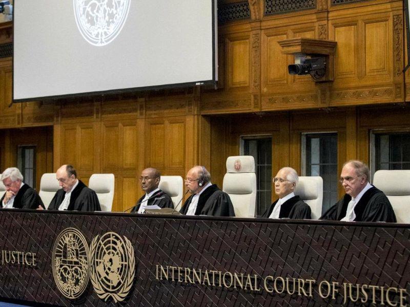 آمریکا رای دادگاه لاهه را محکوم کرد