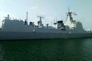 ناوگروه نیروی دریایی چین در بندرعباس پهلو گرفت