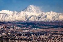 هوای تهران در وضعیت پاک قرار گرفت