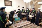 تجلیل سفیران مهدوی از مدافعان سلامت در روز پرستار