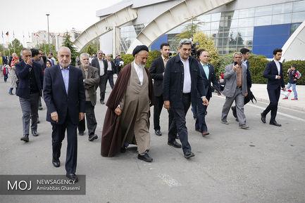 افتتاح هفدهمین نمایشگاه گل و گیاه تهران