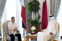 دیدار رئیس جمهور فیلیپین و امیر قطر با تاکید بر تقویت روابط دوجانبه