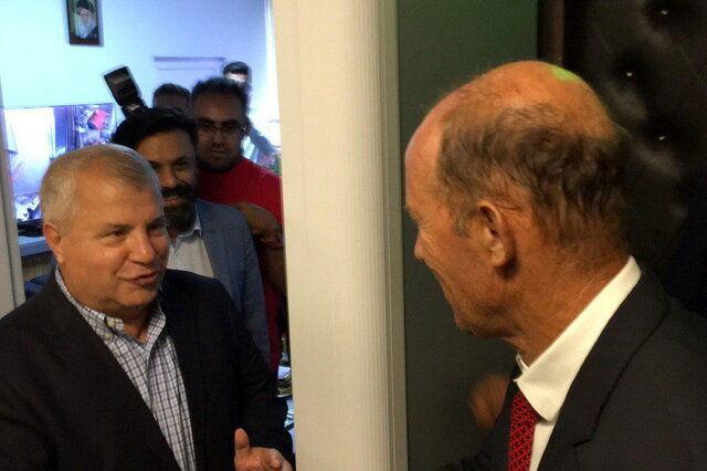 کالدرون با علی پروین دیدار کرد